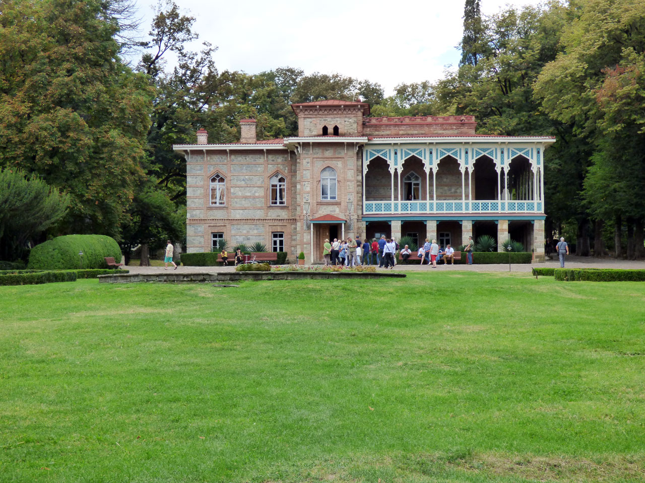 Chavchavadze Estate in Tsinandali, Georgia