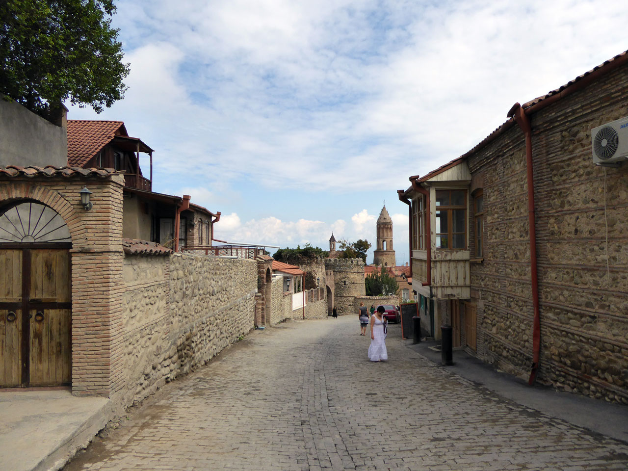 Street in Sighnaghi, Georgia