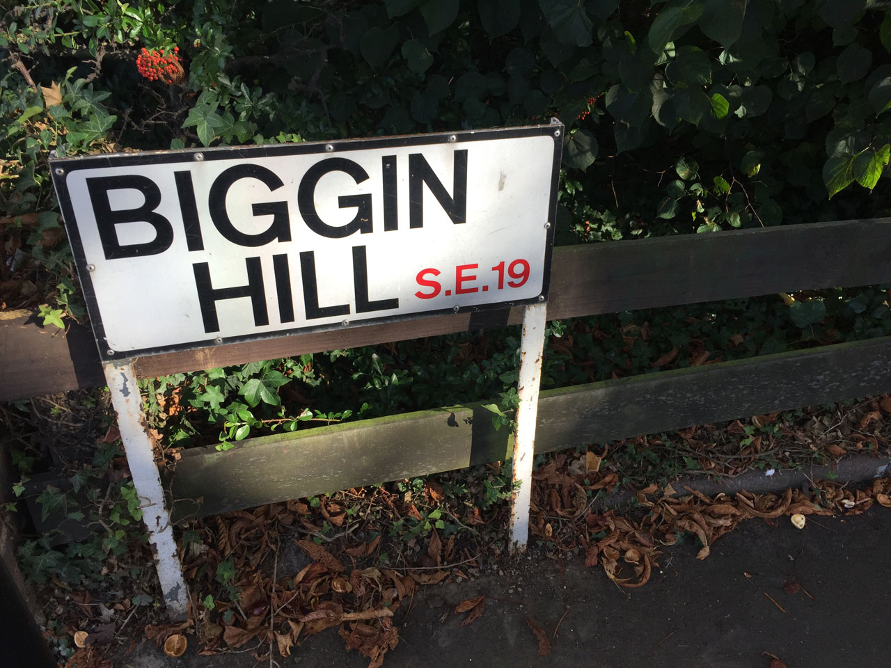 Biggin Hill, London